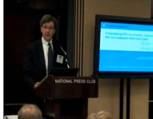 Raul Katz presentation at Conference at National Press Club